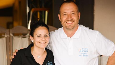 Nous avons reçu le 1er prix par Philippe Bizet vice-président du réseau SOLEN !