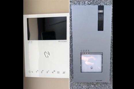 Installation kit visiophone connecté COMELIT