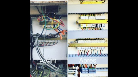 Remise aux normes coffret électrique