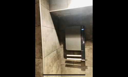 Installation sèche-serviette illico 3 Thermor